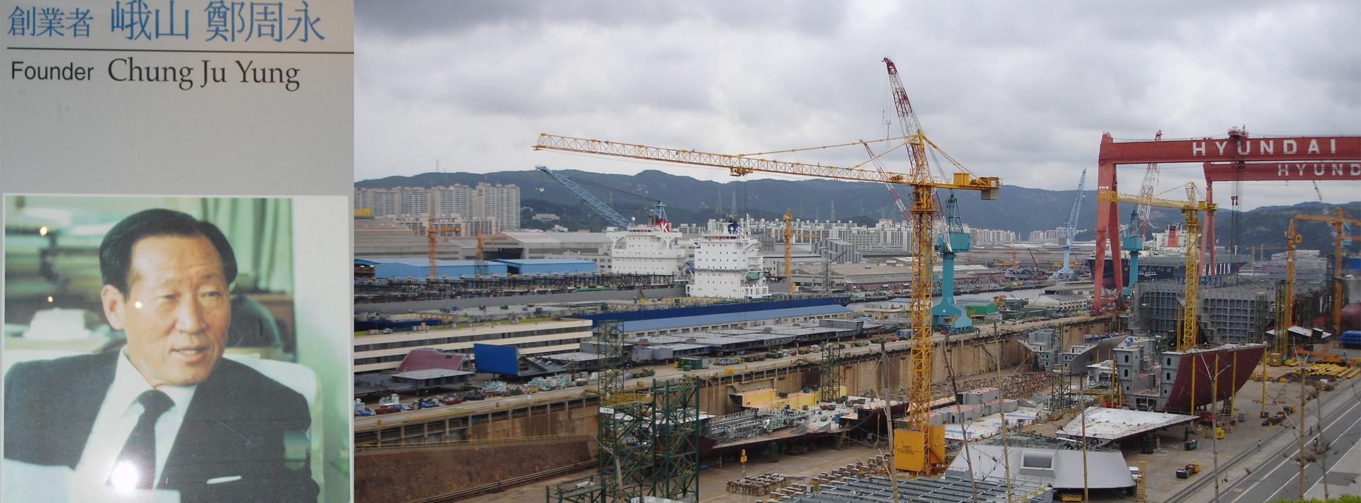 Korea: Στο «Ναυπηγικό Σύμπαν» της Άπω Ανατολής, κορεα, ναυπηγεία, ναυπηγια, χιουνται, Hyundai, Choi Kil Seon, Hyundai Heavy Industries, Ju-yung Chung