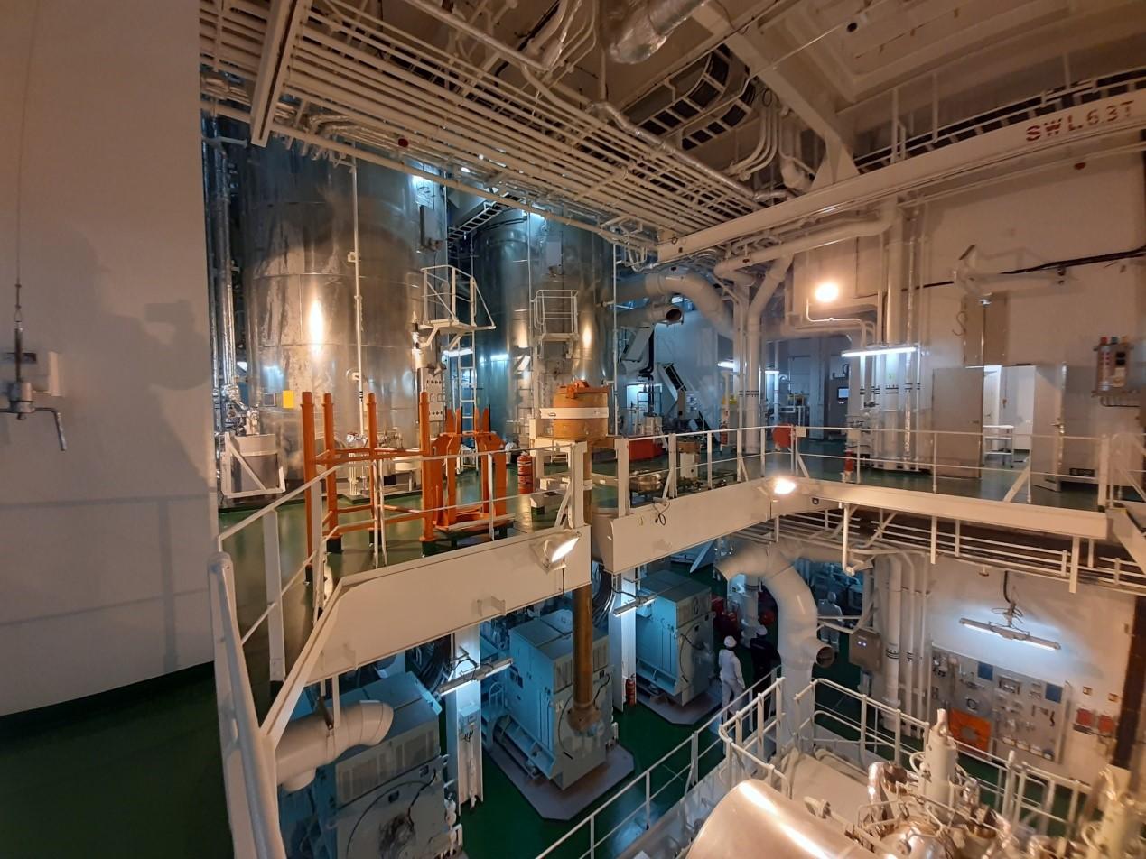 Μελετάται ο ειδικός σχεδιασμός της μηχανής για να δέχεται ως καύσιμο και την αμμωνία